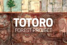 ART | Totoro Forest / Totoro and Totoro project  / by Klbc THU Phan