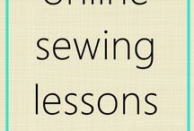 online sewing lesson