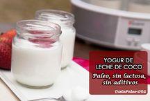 Rectas leche de coco