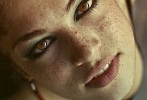 Freckles and Reds, green eyes and blue, beauties all