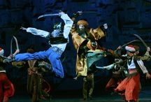 "LE CORSAIRE / A. ADAM «LE CORSAIRE"" Ballet in three acts with prologue and epilogue Synopsis by A. Saint-George and J. Masilier, abridged by Y. Grigorovich,based on the poem by G. Byron Choreography by Yuri Grigorovich, based on  M. Petipa's original choreography Designer: Nikolay Sharonov"