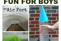 BOY! Oh Boy... / Fun things for Boys to do...activities, crafty crap, games,