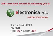ELECTRONICA exhibition 2014 / 11-14, November/ Munich