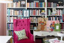 bookcase area
