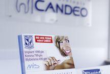 Klinika Candeo na Milczańskiej / Centrum Stomatologii Candeo - Klinika na ul. Milczańskiej 48B w Poznaniu