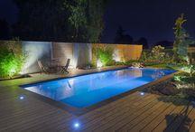 La piscine et jardin