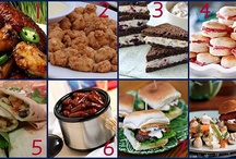 tailgate/party favorites / by Jamie Farish