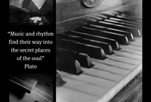 """Music Quotes / """"Music is a higher revelation than all wisdom and philosophy."""" ~ Ludwig von Beethoven / by Patti Adams"""