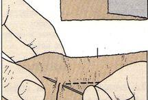 puntos de costura a mano