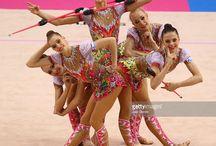 Group Rhythmic gymnastics