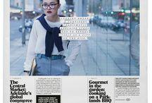 Tidningslayout / Inspiration till god tidningslayout från elever på #Sturegymnasiet