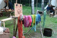Wolle und Pflanzenfärberei