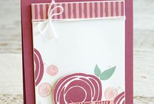 stampin up / Punchboard card holder
