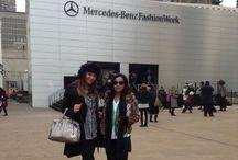 Mercedes Benz NYFW. Fall 2013.