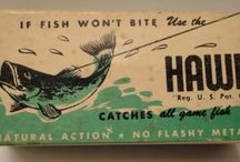 RETRO FISHING TACKLE PACKAGING