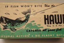 RETRO FISHING TACKLE PACKAGING