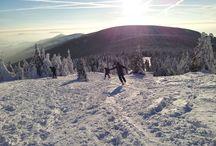 Żeglarze na nartach / Śnieg to też woda :)