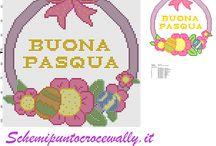 Pasqua schemi punto croce gratuiti / Pasqua schemi punto croce gratuiti