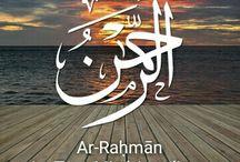 99 names of Allah ❤