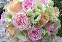 paula fleur / bruiloft, rozen biedermeijer