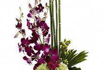 Ikebana virágok és csokrok