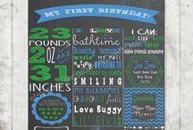 Hunter's 1st Birthday / by Brooke Garrett