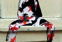 clown stencil