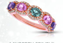 Mixberry Spinel™ & Rose Spinel, August's Newest Birthstone / NEW COLLECTION! Fresh for the picking! Introducing Le Vian® Mixberry Spinel™, a Jared exclusive...online now! The collection features a sweet mix of Rose Spinel, Grape Spinel, Strawberry Spinel™ and Blueberry Spinel™ deliciously accented with Vanilla Diamonds®.