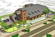 Projecten: Kerken / Nieuwbouw- en verbouwprojecten van kerken
