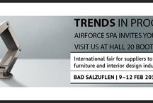 Airforce SpA ZOW 2015 EXPO / Trends in progress. Airforce SpA invites you to the show.  Visit us at Hall 20 Booth B14 . BAD SALZUFLEN 9-12 Feb 2015
