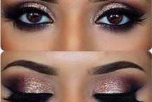 prom makeup natural brown eyes