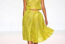 Fashion Dresses - Yellow