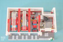 Lego pompieri