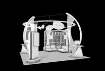 Dr. Reddy's trade show booth. / White Model studies / by kimmodesign