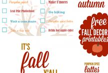 Fall Inspiration / My board for gathering all the beauty of fall- DIY crafts and decor, printables, & more! You will find everything to celebrate fall here except for the recipes. (I have a board for that, Fall Favorite Recipes <3 -http://www.pinterest.com/ffoodiemama/fall-favorite-recipes-3/)