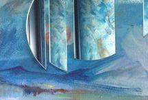 Bagni - pareti - colori - no piastrelle / Credo che le piastrelle siano ospedaliere, credo che i muri colorati siano un'armonia dell'anima. Ci provo