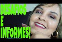 INFORMES E DESAFIOS NO CANAL!!
