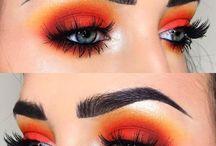 ..Orange Makeup Looks