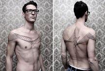 Chaim Machlev: Geometric tattoo