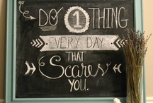 Chalkboard inspiration / Chalkboard inspiration funny home love cosy / by Tim Willems