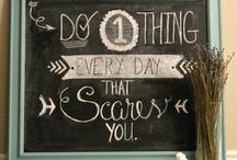 Chalkboard inspiration / Chalkboard inspiration funny home love cosy