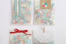 Confetti y pétalos boda