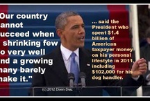 Obama's PHONY Promises & Results (1-2 term) / by PamiPin3