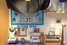 Writing areas