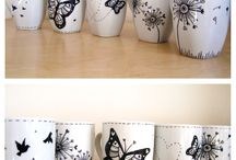 Handbemalte Tassen