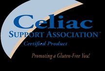 Celiac Disease and Gluten Free Support Groups / Organization that certify gluten free products as well provide an abundance of resources and information for those on a gluten-free diet and/or are diagnosed with celiac disease. / by GlutenFreeRecipeBox.com