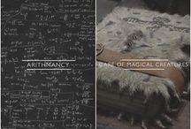 Hogwarts Subjects