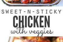 sweet sticky chicken