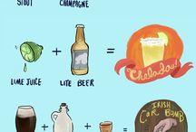 bebidas e comidas