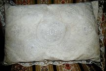 Antique Boudoir pillows
